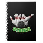 Strike Spiral Notebooks