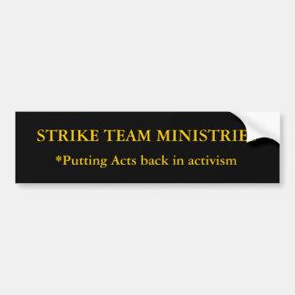 STRIKE TEAM MINISTRIES BUMPER STICKER