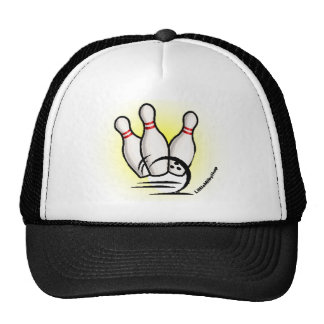 Strike the Bowling Pins Cap Hat