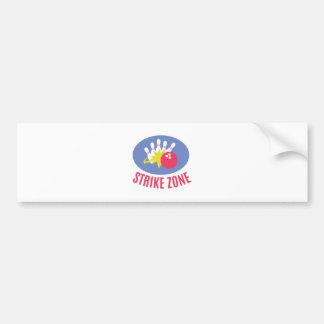 Strike Zone Bumper Sticker