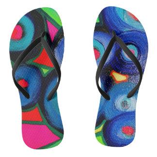 Striking Flip Flops