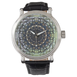 Striking Geometric Face Watch