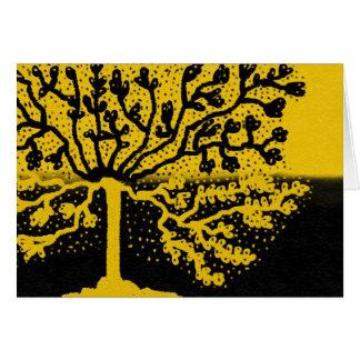 Striking tree card