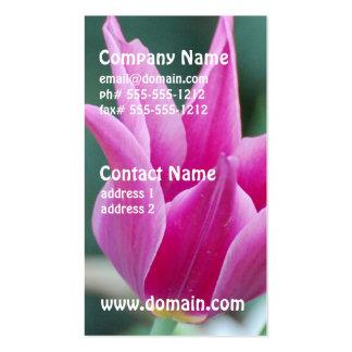 Striking Tulip Business Card