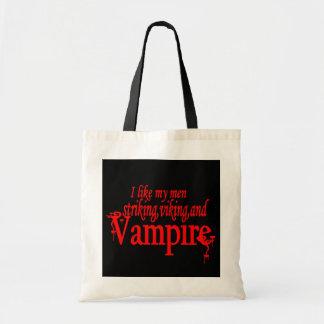 Striking Viking Vampire Budget Tote Bag