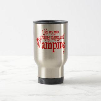 Striking Viking Vampire Stainless Steel Travel Mug