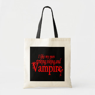 Striking Viking Vampire Tote Bag