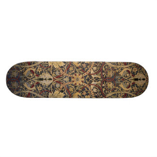 Striking William Morris Bullerwood Design 19.7 Cm Skateboard Deck
