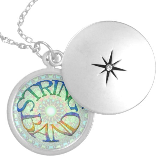 String Band - Interstellar Peak-a-boo Fun Pass Locket Necklace
