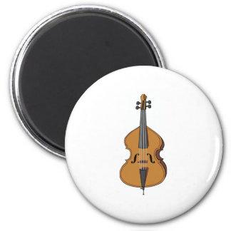 String Bass Fridge Magnet