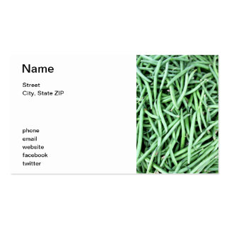 String Beans Pack Of Standard Business Cards