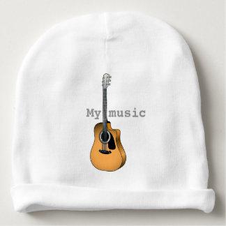 String guitar baby beanie