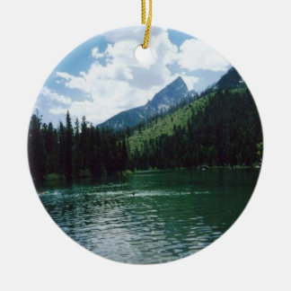 String Lake- Wyoming Christmas Ornament
