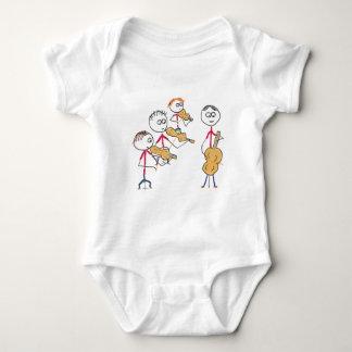 String Quartet 2 Baby Bodysuit
