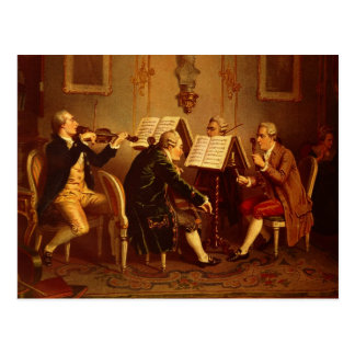 String Quartet Postcard