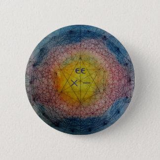 String Theory eg:G 6 Cm Round Badge