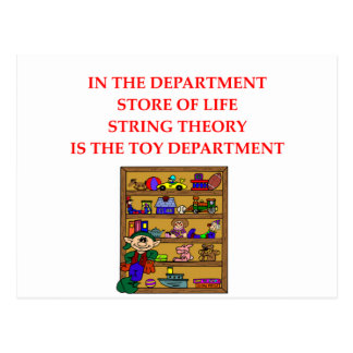 STRING theory gifts Postcard