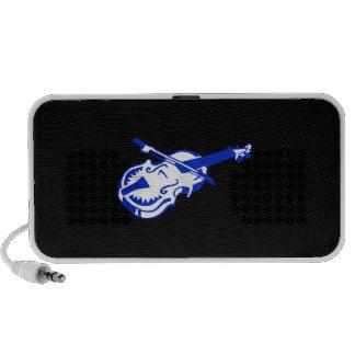 Stringed blue instrument violin bow image png speaker system