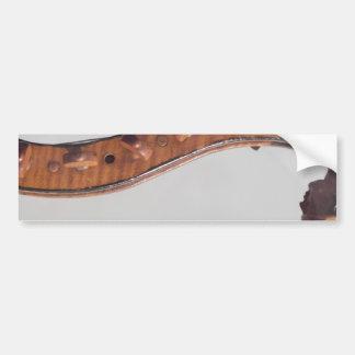 Stringed Instrument Indian Head Bumper Sticker