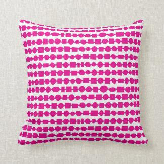 Stringing it Along-Fuchsia Cushion
