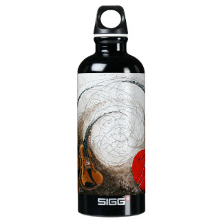 "Strings At War ""Desert"" Liberty Bottle SIGG Traveller 0.6L Water Bottle"