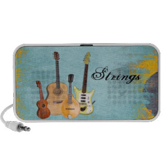 Strings-Four Stringed Instruments iPod Speakers