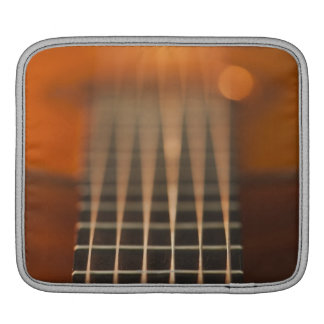 Strings of Acoustic Guitar iPad Sleeve