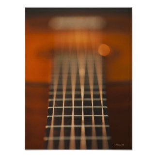 Strings of Acoustic Guitar Poster