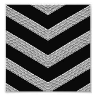 Strip Texture Photo Print