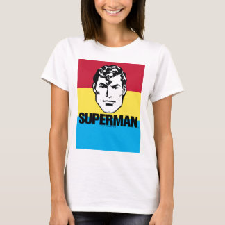 Stripe Boy - Superman T-Shirt