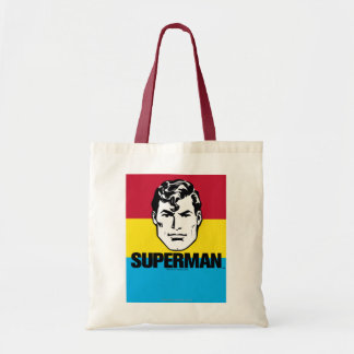 Stripe Boy - Superman Tote Bag