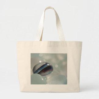 Stripe Candy Sea Glass Canvas Bags