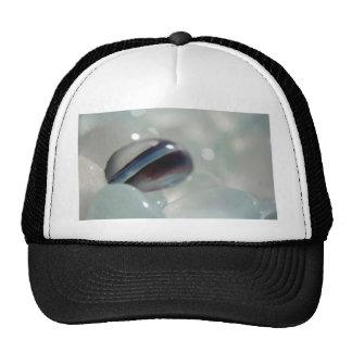 Stripe Candy Sea Glass Mesh Hat