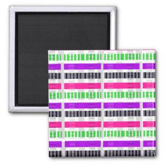 Stripe & Check 2014 Magnet