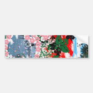 Stripe common cherry tree bumper sticker