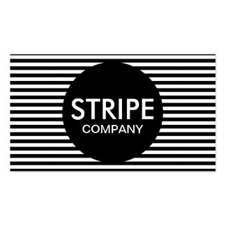 stripe company pack of standard business cards