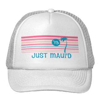 Stripe Just Maui d Hats
