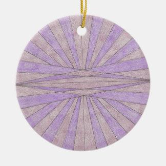 Stripe Line Design Ornament
