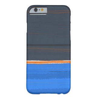 Stripe Orange Barely There iPhone 6 Case