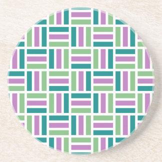 Stripe Pattern coaster