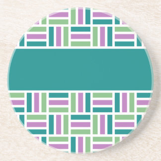 Stripe Pattern coaster, customize Coaster