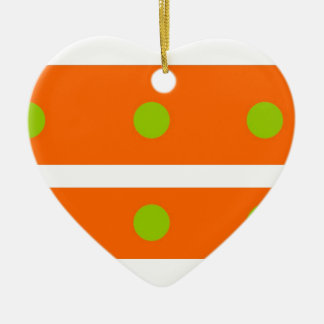 Stripe Pattern Ornament