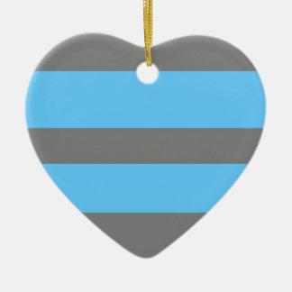 Stripe Pattern Ornament