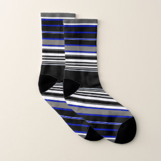 Stripe Small All-Over-Print Socks 1
