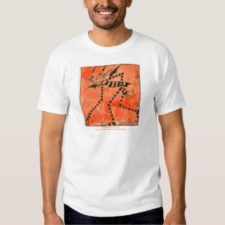 """Stripe Sprite"" Apparel T-shirts"