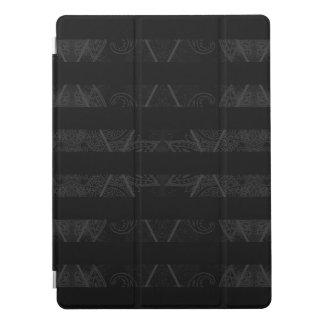 """Striped Argyle Embellished Black 12.9"""" iPad Pro Cover"""