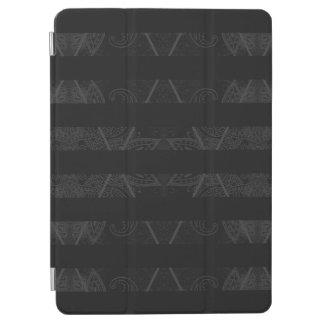 """Striped Argyle Embellished Black 9.7"""" iPad Pro Cover"""