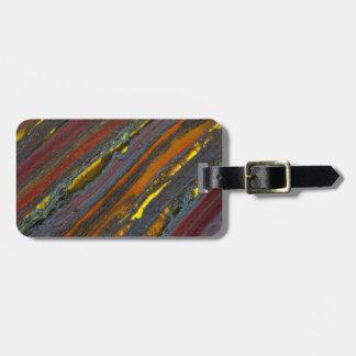 Striped Australian Tiger Eye Luggage Tag