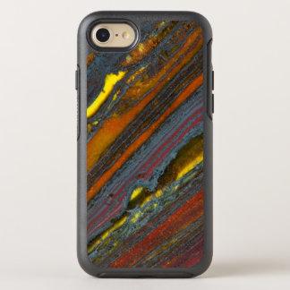 Striped Australian Tiger Eye OtterBox Symmetry iPhone 7 Case