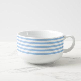 Striped Baby Blue Eyes Soup Mug